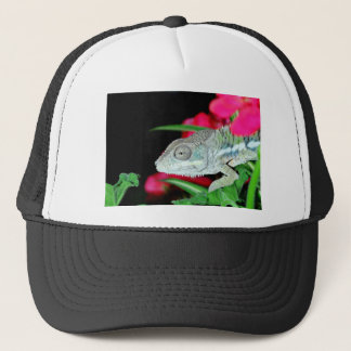 panther chameleon trucker hat