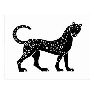 Panther, Greek relief design Postcard