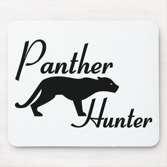 Panther Hunter Mouse Pad