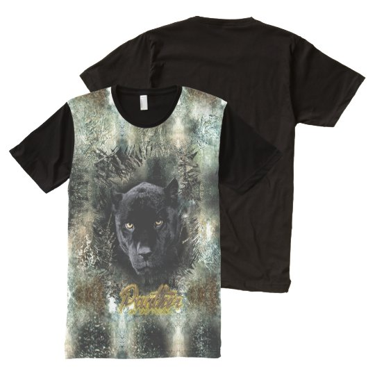 """""""Panther on the Prowl"""" All-Over Print T-Shirt"""