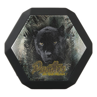 """Panther on the Prowl"" Black Bluetooth Speaker"