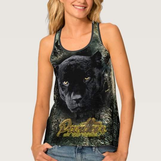 """""""Panther on the Prowl"""" Tank Top"""