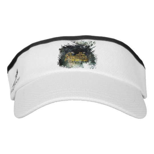 """Panther on the Prowl"" Visor"