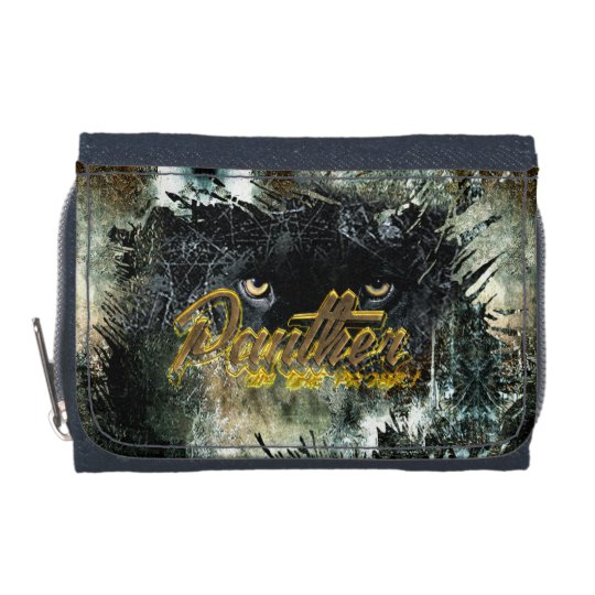 """Panther on the Prowl"" Wallet"