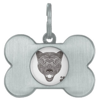 Panther Pet Tag