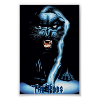 Panther...The Boss Poster