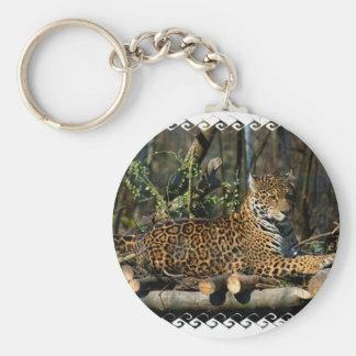 Panthera Jaguar Keychain