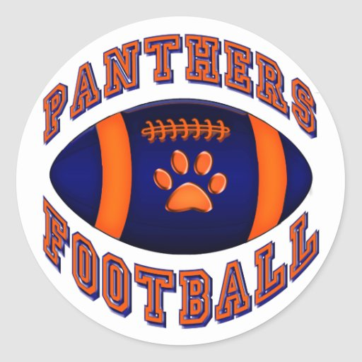 Panthers Football Stickers