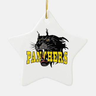 PANTHERS MASCOT CHRISTMAS ORNAMENT