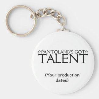 Pantoland's Got Talent Memento Basic Round Button Key Ring