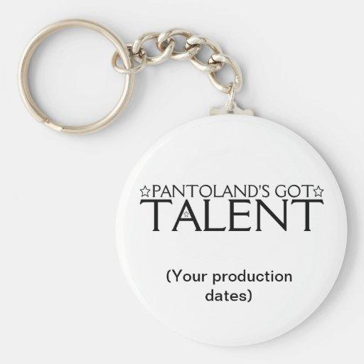 Pantoland's Got Talent Memento Key Chains