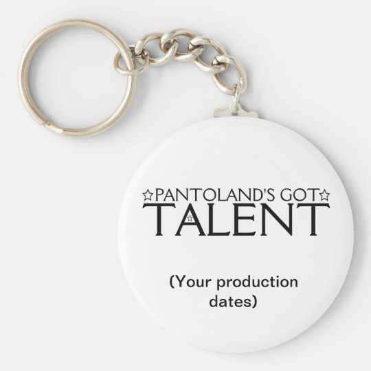 Pantoland's Got Talent Memento Key Ring