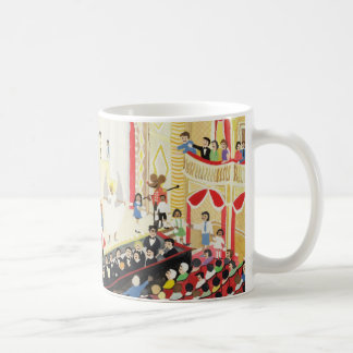 Pantomime Basic White Mug