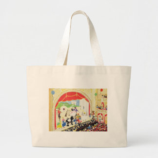 Pantomime Large Tote Bag