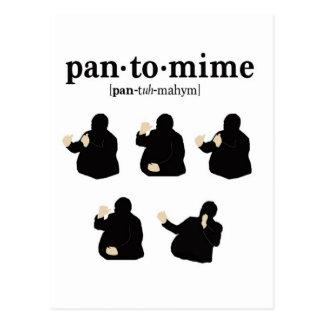 Pantomime Postcard