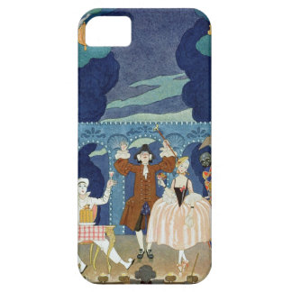 Pantomime Stage, illustration for 'Fetes Galantes' Barely There iPhone 5 Case
