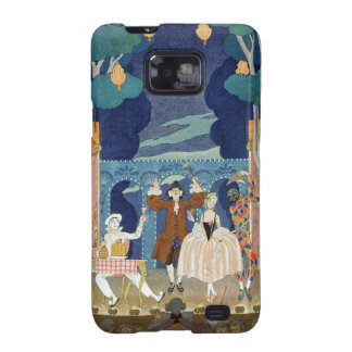 Pantomime Stage, illustration for 'Fetes Galantes' Galaxy S2 Case