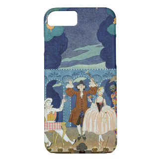 Pantomime Stage, illustration for 'Fetes Galantes' iPhone 8/7 Case
