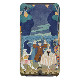 Pantomime Stage, illustration for 'Fetes Galantes' iPod Touch Case-Mate Case