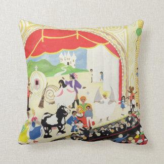 Pantomime Throw Pillow