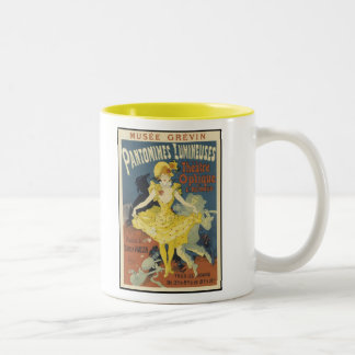 """Pantomimes"" Two-Tone Coffee Mug"
