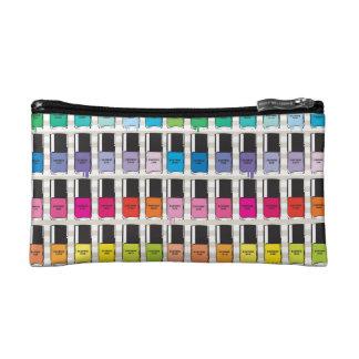 Pantone cool nail polish cosmetic bag
