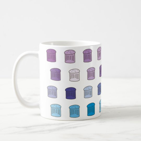 Pantone Panettone Mug - Blue / Purple