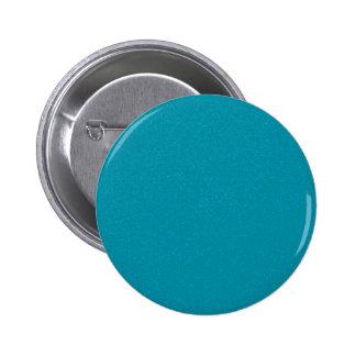 PANTONE Scuba Blue with fine faux Glitter 6 Cm Round Badge
