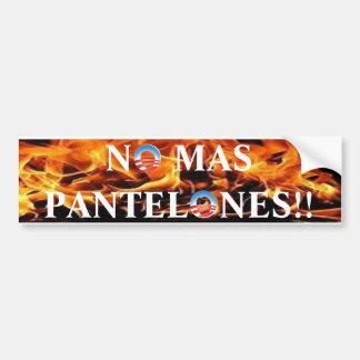 Pants on fire saying bumper sticker