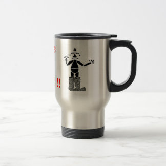 Pants On The Ground !! Stainless Steel Travel Mug