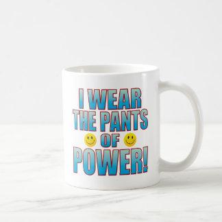 Pants Power Life B Basic White Mug