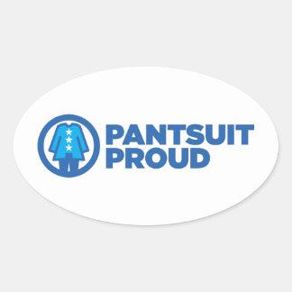 Pantsuit Nation Pride Oval Sticker