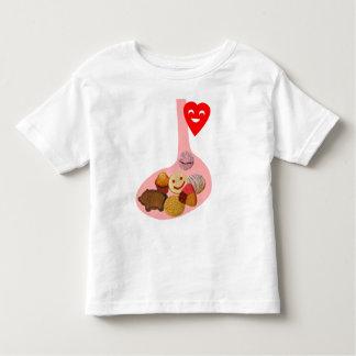 PANza llena, corazón contento Toddler T-Shirt