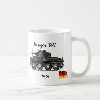 Panzer 38t -WW II Tank Coffee Mug