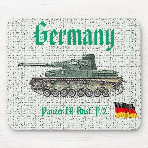 Panzer IV Aus-GERMANY Mouse Pad