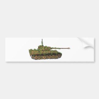 Panzer VI Tiger89 Bumper Sticker