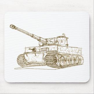 Panzer VI Tiger 1 tank Mousepad