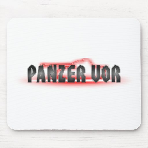 Panzer Vor Mousepad
