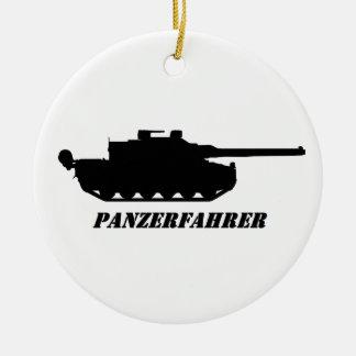 panzerfahrer christmas ornament