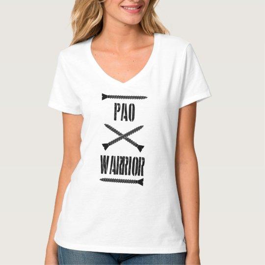 PAO Warrior Tee