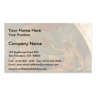 Paolo Uccello Creation of Adam Business Card Templates
