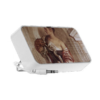 Paolo Veronese Muse with Lyre Notebook Speakers