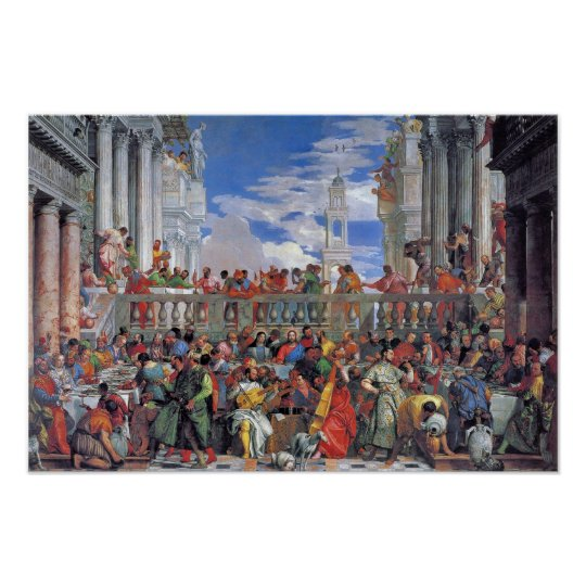 Paolo Veronese - The Wedding at Cana Poster