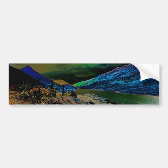 pap of glencoe mountain bumper sticker