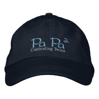 PaPa (2) Embroidered Baseball Caps
