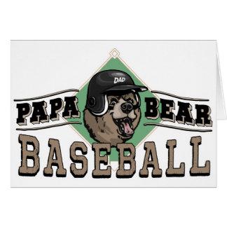 Papa Bear Baseball by Mudge Studios Card