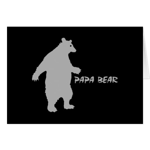 Papa Bear Cards