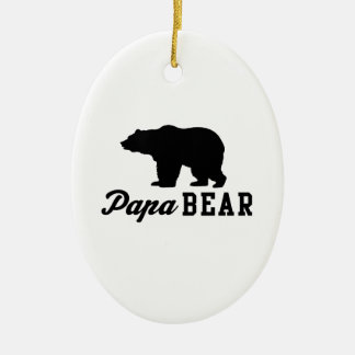 Papa Bear Christmas Ornament