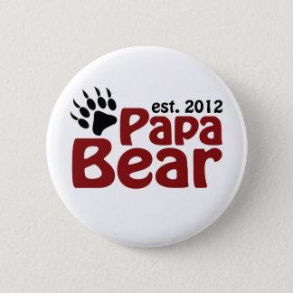 papa bear claw 2012 6 cm round badge