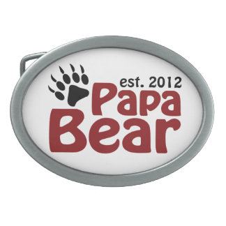 papa bear claw 2012 belt buckle